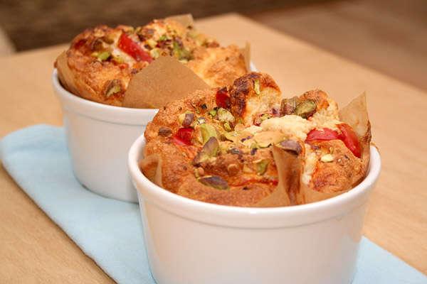 Суфле с креветками