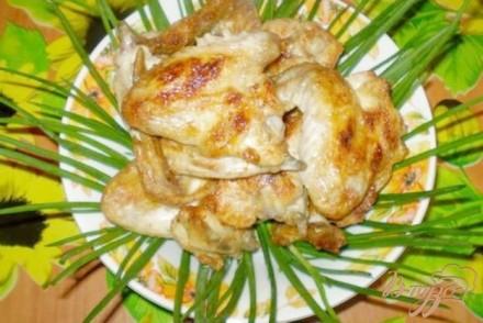 Шашлык куриный на кефире с чесноком