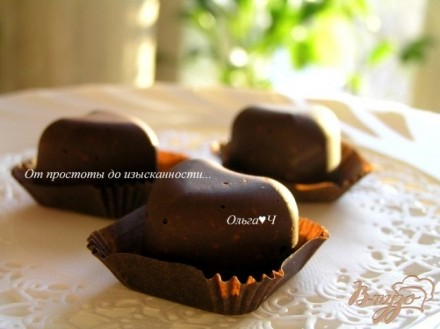 Шоколадные конфеты с чесноком