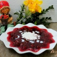 фото рецепта Вишнёвый холодный суп