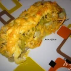 Пангасиус с киви под сыром