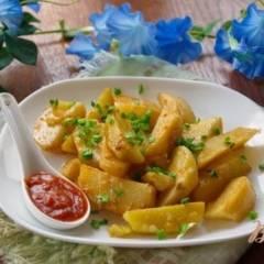 Картофель в рукаве со специями