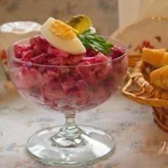 Свекольный салат на новый лад