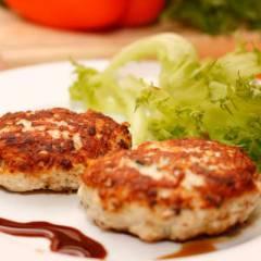 фото рецепта Котлеты куриные с сыром