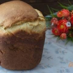 Кулич на твороге с изюмом в хлебопечке