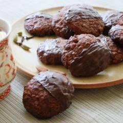 фото рецепта Шоколадные пряники с цукатами