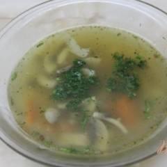 Грибной суп с гречневой крупой
