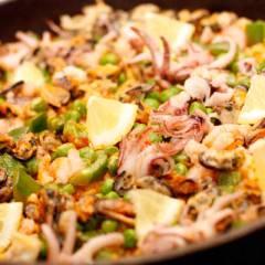 фото рецепта Паэлья с морепродуктами