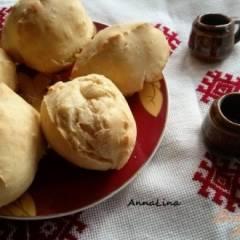Пирожки на кефире с арахисовой пастой