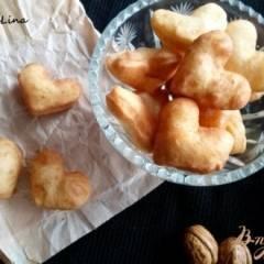 Пончики на кефире без дрожжей