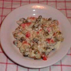 """фото рецепта Салат """"Оливье"""" с крабовыми палочками"""