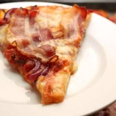 фото рецепта Пицца с беконом