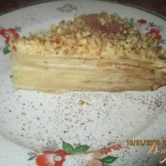 Блинный торт со сметаной