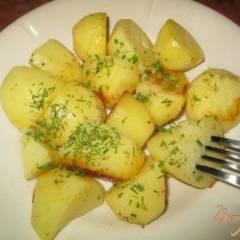 Картошка запеченная в кулинарном рукаве