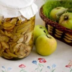 Консервированная яблочная начинка для пирогов