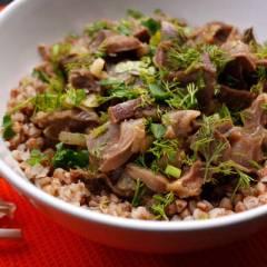 фото рецепта Желудки индейки
