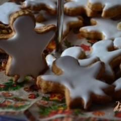Медовое печенье с миндалем