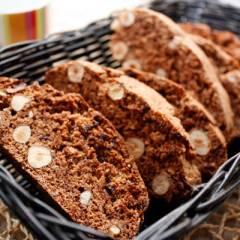 фото рецепта Шоколадные бискотти с фундуком