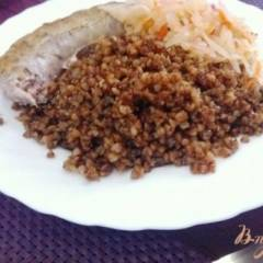 фото рецепта Томленая гречка на гарнир