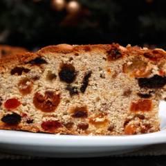 фото рецепта Фруктовый рождественский кекс