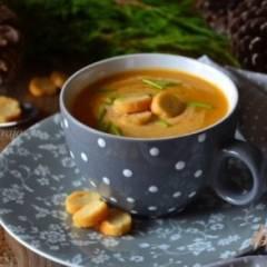 Суп-пюре с  овощами  и рыбными консервами