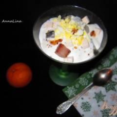 Коктель-закуска с селедкой