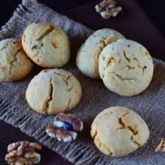 Песочные коржики с анисом и грецким орехом
