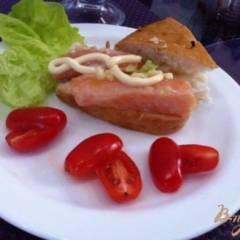 фото рецепта Слабосоленый лосось с имбирем