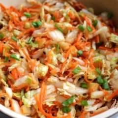 Салат из пекинской капусты и моркови