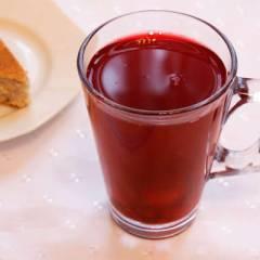 фото рецепта Ягодный компот с медом