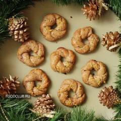 Печенье «Рождественские венки»