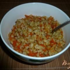 Перловая каша с луком и морковью