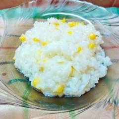 Рис с розмарином и кукурузой