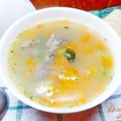 Суп из говядины с соленым огурцом