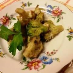 фото рецепта Гарнир из брокколи и цветной капусты