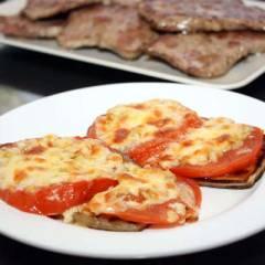 фото рецепта Запеченные баклажаны с сыром