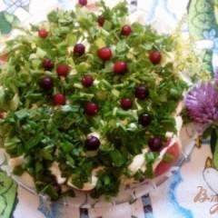 фото рецепта Салат из помидоров и яиц