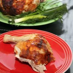 фото рецепта Просто вкусная запеченная курица