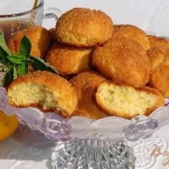 Быстрое печенье в корично-сахарной панировке