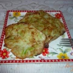 Оладьи из картофеля и кабачка без муки