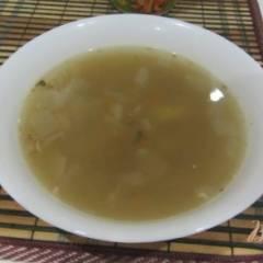 Рыбный суп с манной крупой
