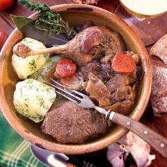 фото рецепта Утка по-деревенски с квашеной капустой