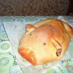 """фото рецепта Кулебяка """" ХРЮША"""""""
