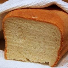 Белый хлеб на оливковом масле