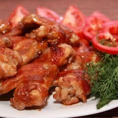 фото рецепта Куриные крылья в кисло-сладком соусе