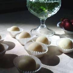 фото рецепта Марципановые конфеты