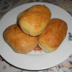 Пирожки с начинкой из квашеной капусты