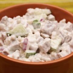 фото рецепта Салат с перловкой