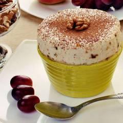 фото рецепта Парфэ с грецкими орехами и медом