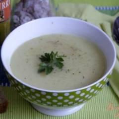 Суп-пюре из цуккини с карри
